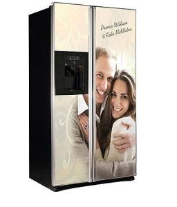 Royal-themed refrigerator from GDHA