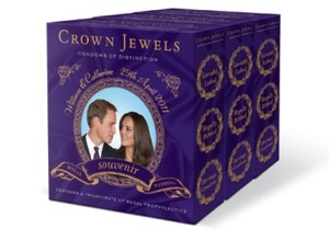 Crown Jewels Will & Kate condoms