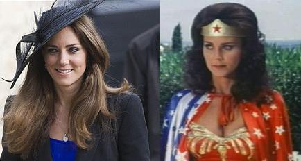 Kate Middleton Wonder Woman