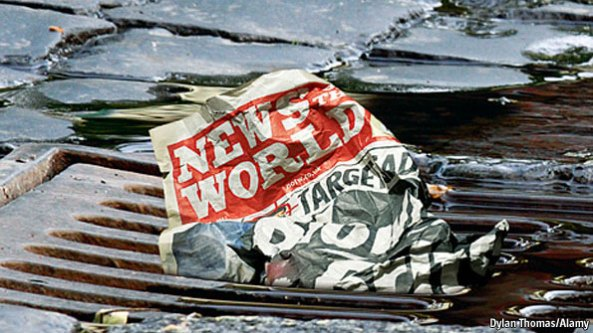 News of the World Dylan Thomas Alamy Economist