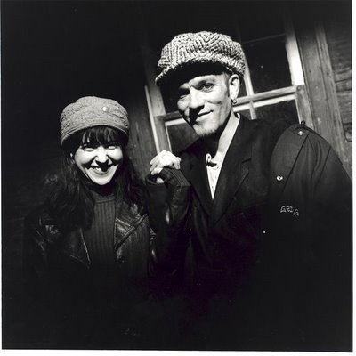 Kristin Hersh and Michael Stipe