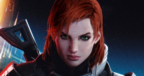 Mass Effect 3 Redhead Female Shepard Wins