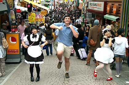 Matt Harding in Tokyo