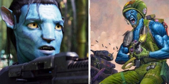 Sam Worthington Avatar Rogue Trooper