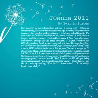 year in statuses 2011