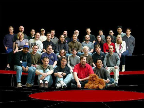 Morrowind development team at Bethesda