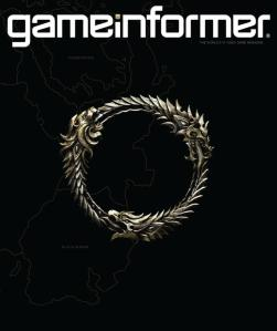 Elder Scrolls Online Game Informer cover