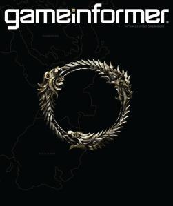 Elder Scrolls Online Game Informer cover
