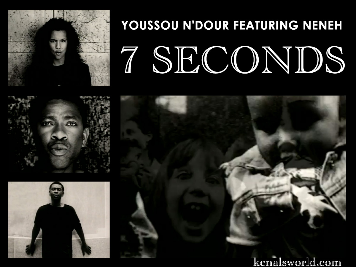 Top 100 Singles Of All Time 73 Youssou Ndour And Neneh Cherry 7 Seconds on Number Lines To Print