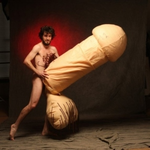 http://www.etsy.com/listing/44634930/mature-content-giant-penis-sculpture