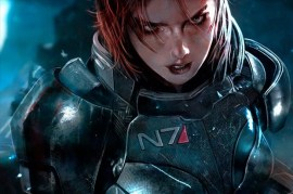 mass effect 3 female shepard bioware promo pic