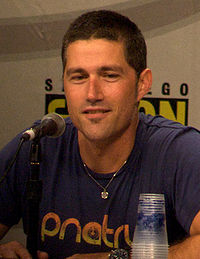 Matthew Fox at 2008 Comic Con - pic by Ewen Roberts