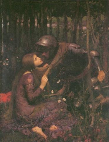 La Belle Dame sans Merci by John William Waterhouse - public domain via wikipedia