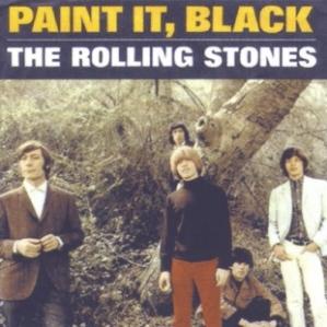 rolling stones paint it black sleeve art