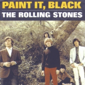 rolling stones paint it black sleeve art
