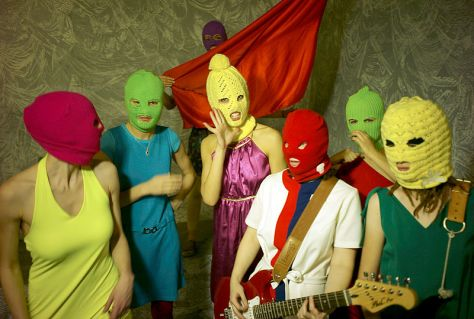 Pussy Riot by Igor Mukhin via wikipedia