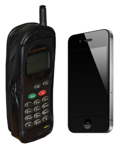 Two cell phones by Ben Schumin via Zach Vega Wikipedia