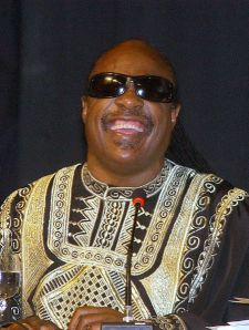 Stevie Wonder by Antonio Cruz/ABr