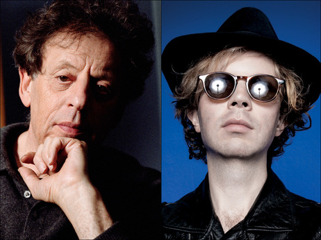beck and philip glass from npr via the artists