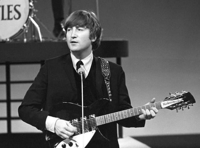 Image result for john lennon beatles