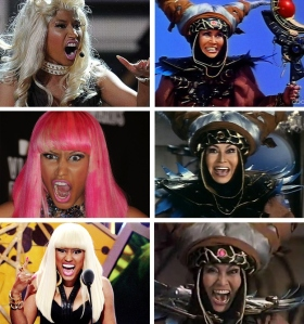 Nicki Minaj looks exactly like Rita Repulsa from Power Rangers Buzzfeed