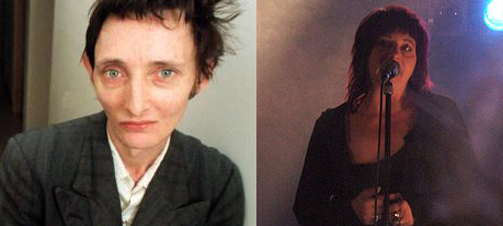 Rowland S Howard press pic Lydia Lunch by Starphuk