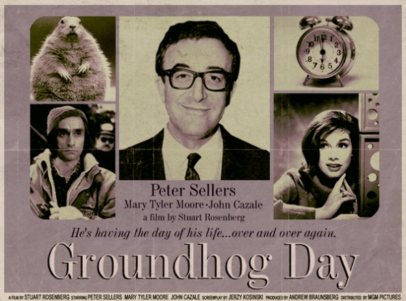 Groundhog Day reimagined by Peter Stults