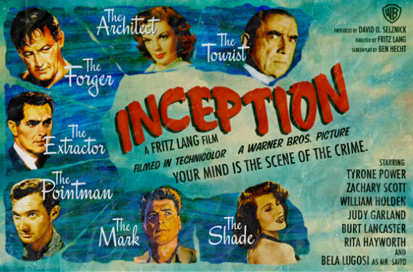 Inception What If Poster by Peter Stults