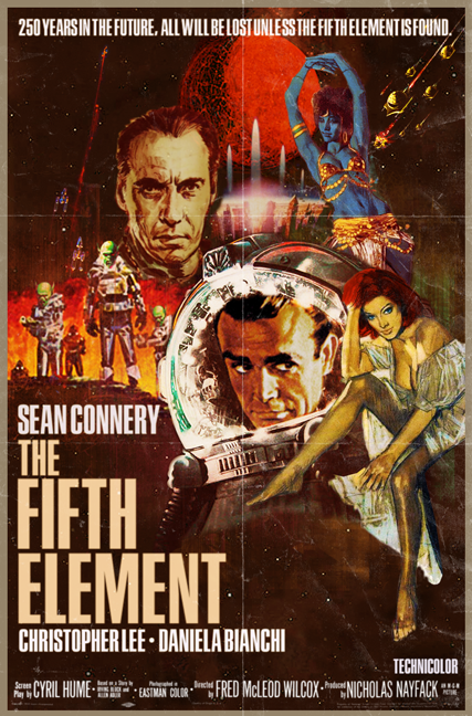 The Fifth Element What If Poster by Peter Stults