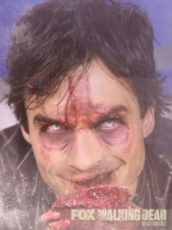 Ian Somerhalder zombie