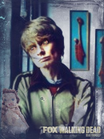 JG Thirlwell by Philip Lethen zombie