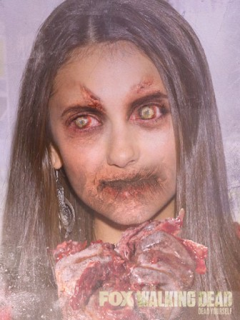 Nina Dobrev zombie