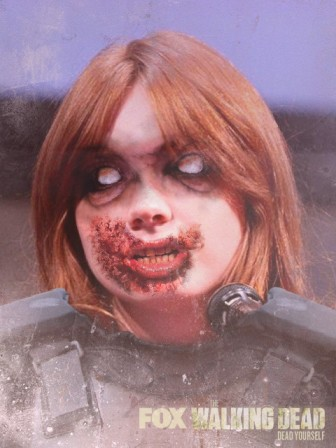 Karen Gillan by Gage Skidmore - zombiefied