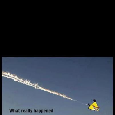 russia meteorite angry birds