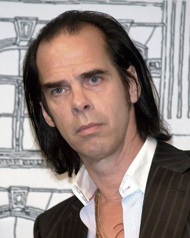 Nick Cave 2009 New York City David Shankbone